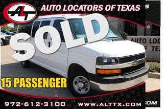 2017 Chevrolet Express Passenger LT   Plano, TX   Consign My Vehicle in  TX
