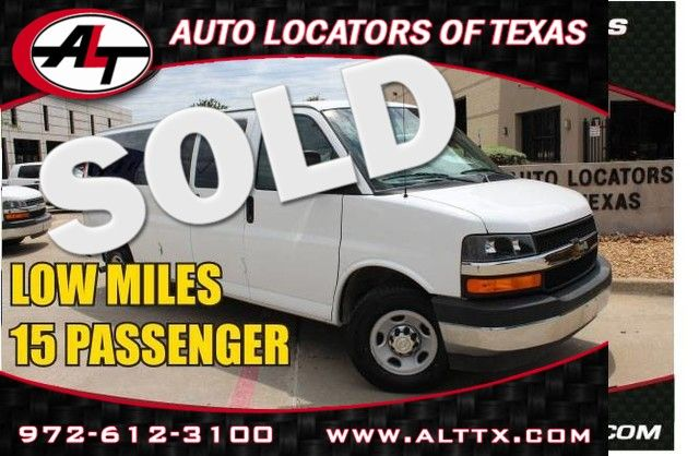 2017 Chevrolet Express Passenger LT | Plano, TX | Consign My Vehicle in  TX