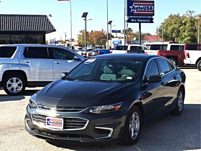 2017 Chevrolet Malibu Charcoal LS Camera | Irving, Texas | Auto USA in Irving Texas
