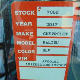2017 Chevrolet Malibu LT Nephi, Utah 10