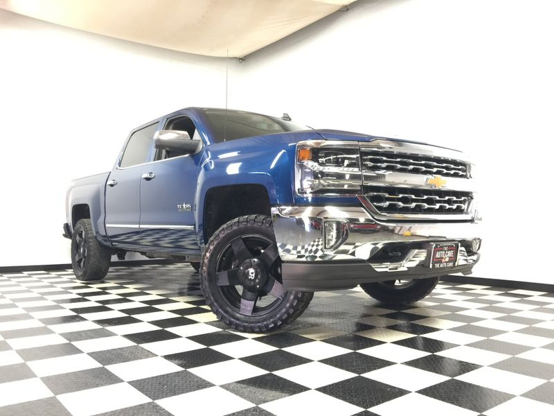2017 Chevrolet Silverado 1500 LTZ *Sharp '17 Model LTZ* Leveled on Rims & Tires* | The Auto Cave in Addison