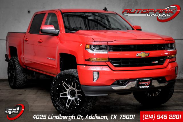 2017 Chevrolet Silverado 1500 LT 4x4 Lifted on VISION Wheels