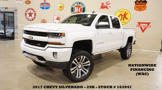 2017 Chevrolet Silverado 1500 LT Z-71 4X4 LIFTED,LEATHER,22'S,29K in Carrollton, TX 75006