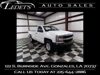 2017 Chevrolet Silverado 1500 Work Truck - Ledet's Auto Sales Gonzales_state_zip in Gonzales