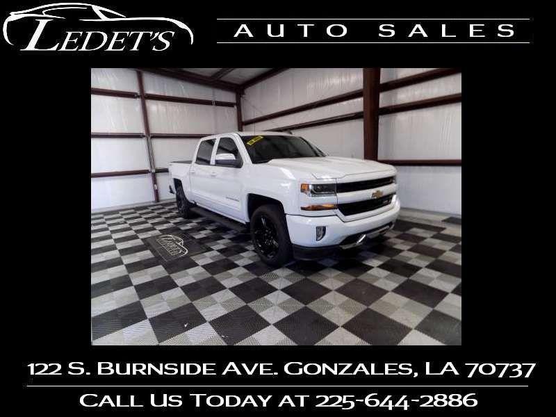 2017 Chevrolet Silverado 1500 LT - Ledet's Auto Sales Gonzales_state_zip in Gonzales Louisiana