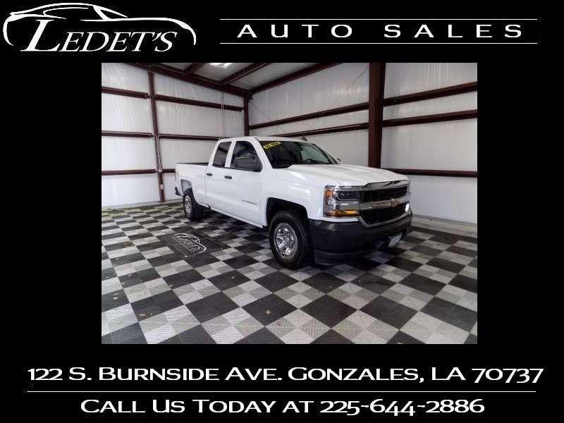 2017 Chevrolet Silverado 1500 Work Truck - Ledet's Auto Sales Gonzales_state_zip in Gonzales Louisiana