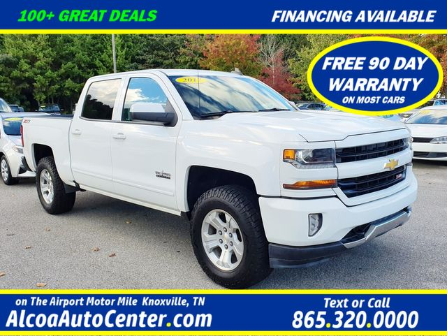 "2017 Chevrolet Silverado 1500 LT 4WD 5.3L V8 CREW CAB Z71 Heated Leather/18"" in Louisville, TN 37777"