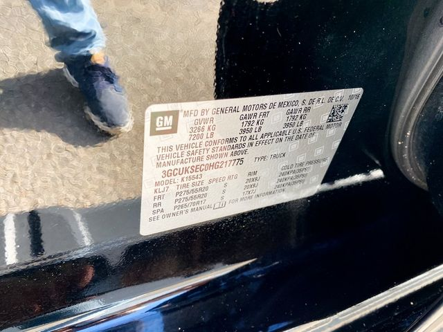 2017 Chevrolet Silverado 1500 LTZ Madison, NC 46