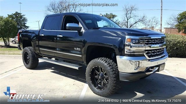 2017 Chevrolet Silverado 1500 Ltz Lift Custom Wheels And Tires