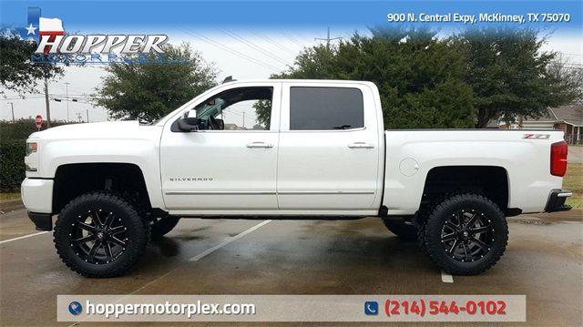 2017 Chevrolet Silverado 1500 Ltz Lift Custom Wheels And Tires In Mckinney Texas 75070