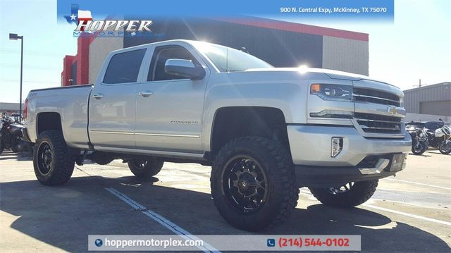 2017 Chevrolet Silverado 1500 LTZ LIFT/CUSTOM WHEELS AND TIRES in McKinney, Texas 75070