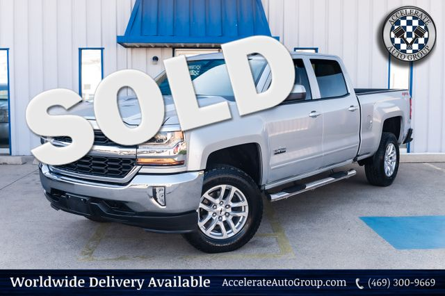 2017 Chevrolet Silverado 1500 LT 4X4 AUTO TRANS CLEAN CARFAX BACKUP CAMERA in Rowlett