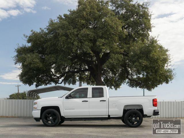 2017 Chevrolet Silverado 1500 4 Door Extended Cab Custom 4.3L V6
