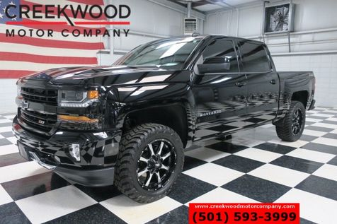 2017 Chevrolet Silverado 1500 LT Z71 4x4 Nav Black 20s Leveled Low Miles 1 Owner in Searcy, AR