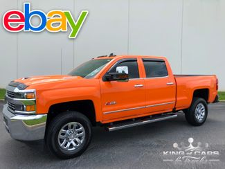 2017 Chevrolet Silverado 2500 CREW 6.6L DURAMAX 34K MILE 4X4 RARE TANGIER ORANGE in Woodbury, New Jersey 08096