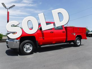 2017 Chevrolet Silverado 2500HD Crew Cab 2wd with New Reading Utility Bed in Lancaster, PA PA