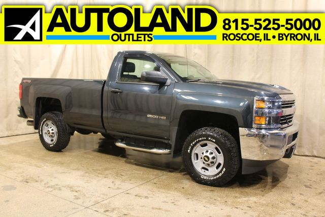 2017 Chevrolet Silverado 2500HD long bed 4x4 diesel Work Truck
