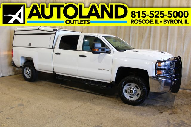 2017 Chevrolet Silverado 2500HD Long Bed Diesel 4x4 Work Truck