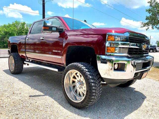2017 Chevrolet Silverado 2500HD LTZ Crew Cab 4X4 Z71 6.6L Duramax Diesel Allison LIFTED FORCES