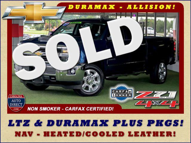 2017 Chevrolet Silverado 2500HD LTZ PLUS Crew Cab 4x4 Z71 - NAV - DURAMAX PLUS! Mooresville , NC 0
