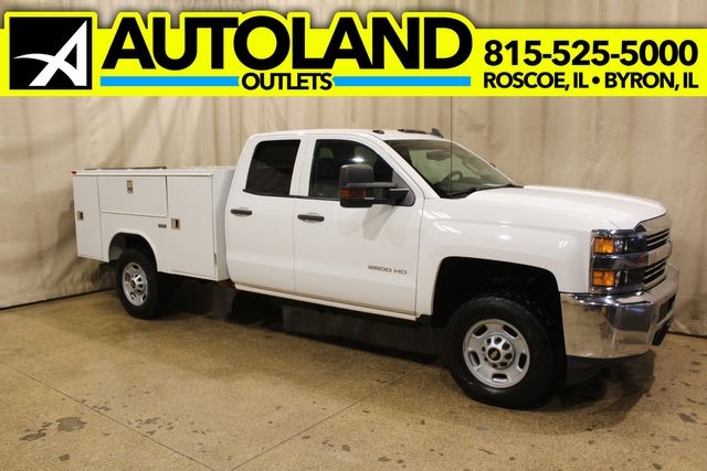 2017 Chevrolet Silverado 2500HD Utility Tommy Gate Long Bed 4x4 Work Truck