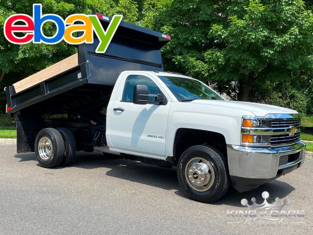 2017 Chevrolet Silverado 3500 4X4 MASON DUMP ONLY 52K MILES LIKE NEW