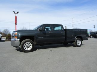 2017 Chevrolet Silverado 3500HD Crew Cab 4x4 with New 8' Knapheide Utility Bed in Lancaster, PA, PA 17522
