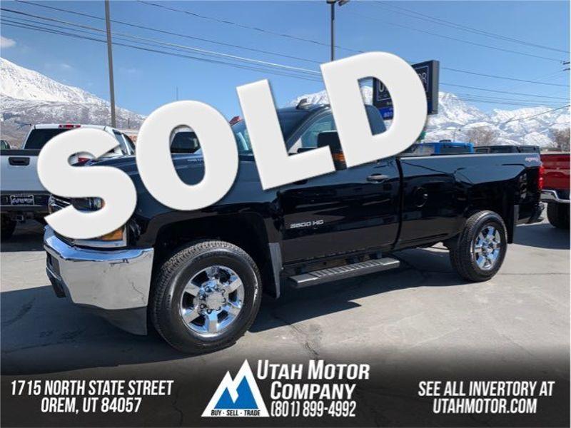 2017 Chevrolet Silverado 3500hd Work Truck Orem Utah Motor Company