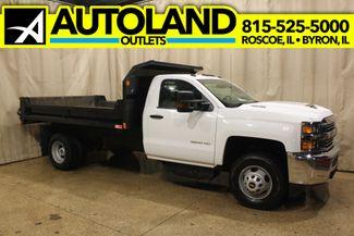 2017 Chevrolet Silverado 3500HD Diesel 4x4 Dump Box Work Truck in Roscoe, IL 61073