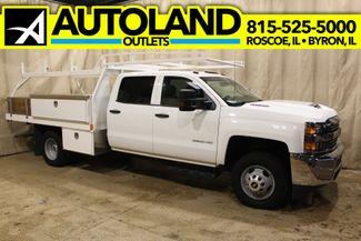 2017 Chevrolet Silverado 3500HD utlity box Diesel 4x4 Work Truck in Roscoe, IL 61073
