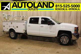 2017 Chevrolet Silverado 3500HD 4x4 Crane assist truck LT in Roscoe, IL 61073