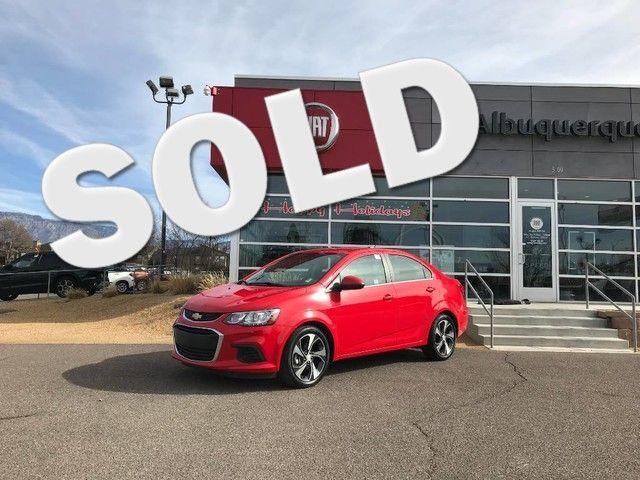 2017 Chevrolet Sonic Premier in Albuquerque, New Mexico 87109