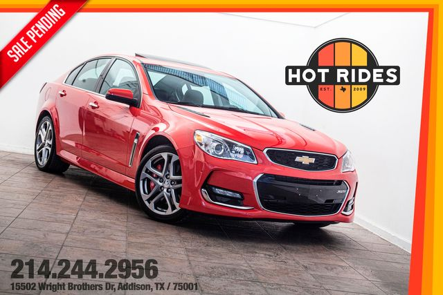 2017 Chevrolet SS Sedan 6-Speed Manual in Addison, TX 75001