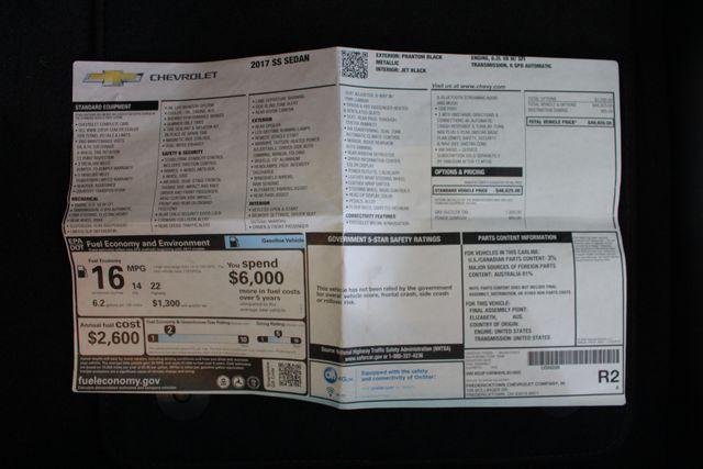 2017 Chevrolet SS Sedan RWD - NAVIGATION - SUNROOF - 6.2L V8 ENGINE! Mooresville , NC 7