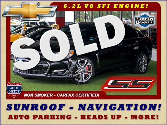 2017 Chevrolet SS Sedan RWD - NAVIGATION - SUNROOF - 6.2L V8 ENGINE! Mooresville , NC 0