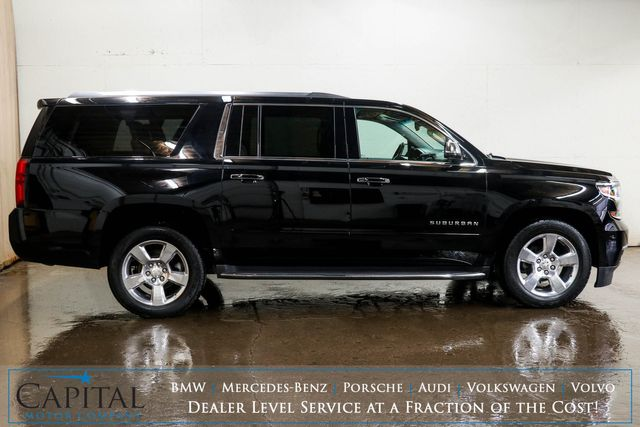2017 Chevrolet Suburban Premier 4x4 Luxury SUV w/3rd Row Seats, Dual DVD Screens, Nav, Heated/Cooled Seats & BOSE in Eau Claire, Wisconsin 54703