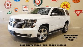 2017 Chevrolet Tahoe Premier SUNROOF,NAV,REAR DVD,QUADS,20'S,42K in Carrollton, TX 75006