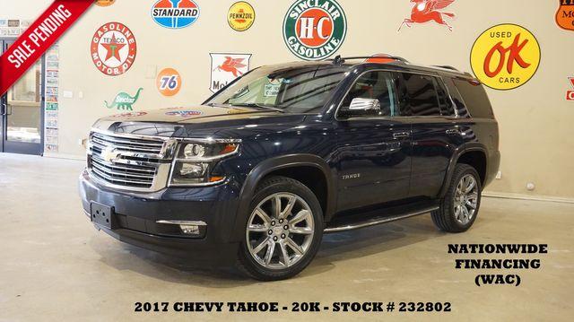2017 Chevrolet Tahoe Premier HUD,SUNROOF,NAV,REAR DVD,QUADS,22'S,20K