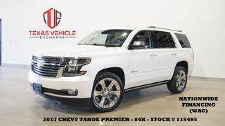 2017 Chevrolet Tahoe Premier 4WD HUD,ROOF,NAV,REAR DVD,QUADS,22'S,84K in Carrollton, TX 75006