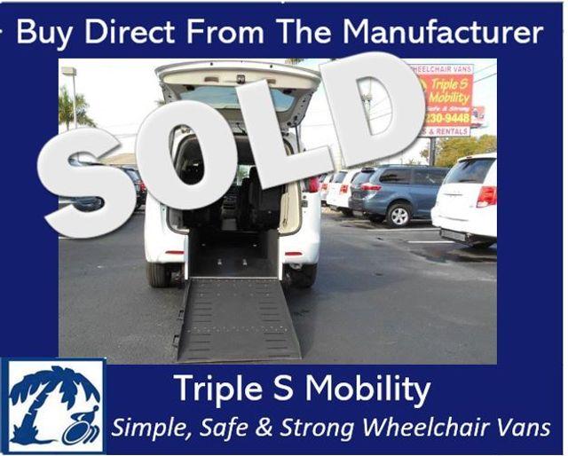 2017 Chrysler Pacifica Lx Wheelchair Van Handicap Ramp Van