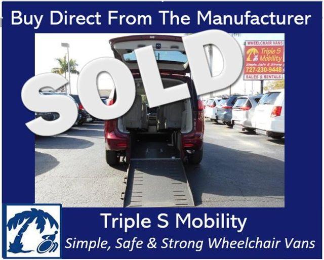 2017 Chrysler Pacifica Touring Wheelchair Van Handicap Ramp Van