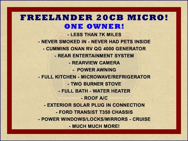 2017 Coachmen Freelander  20CB Micro Mooresville , NC 1