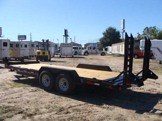 2017 Diamond C 18EEQ EXTREME DUTY EQUIPMENT TRAILER 20' CONROE, TX 11