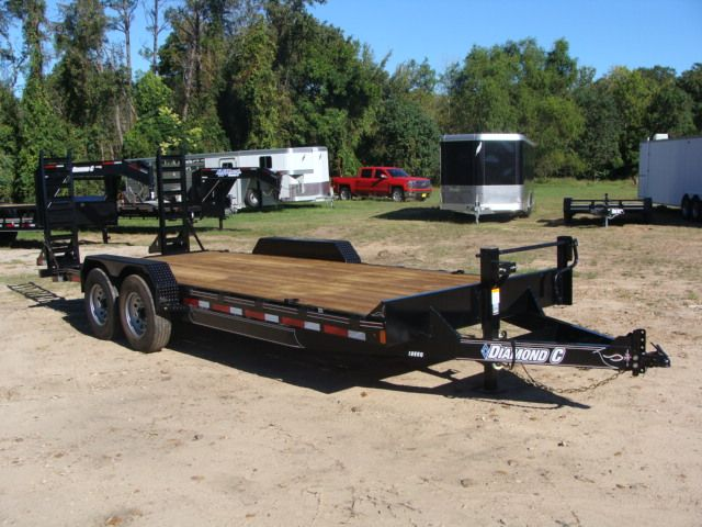 2017 Diamond C 18EEQ EXTREME DUTY EQUIPMENT TRAILER 20' CONROE, TX 30
