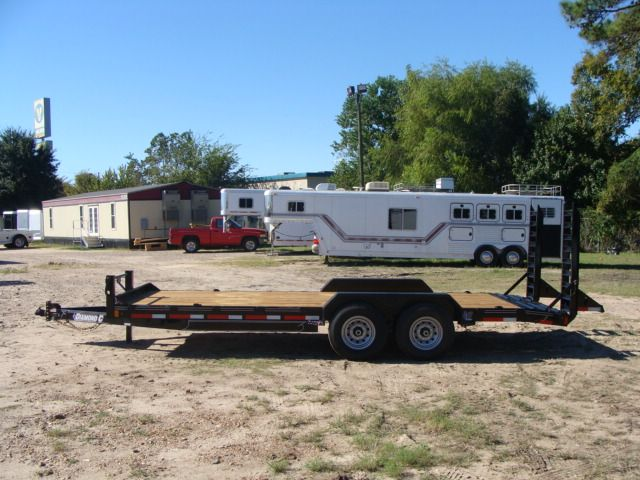2017 Diamond C 18EEQ EXTREME DUTY EQUIPMENT TRAILER 20' CONROE, TX 10