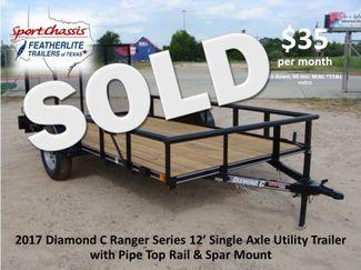 "2017 Diamond C Ranger Series RSA - 12' X 72"" CONROE, TX"