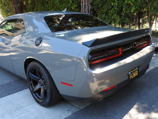 2017 Destroyer Gray Dodge Challenger Srt Hellcat  Hellcat 900 miles One Owner Destroyer Gray  city California  Auto Fitness Class Benz  in , California