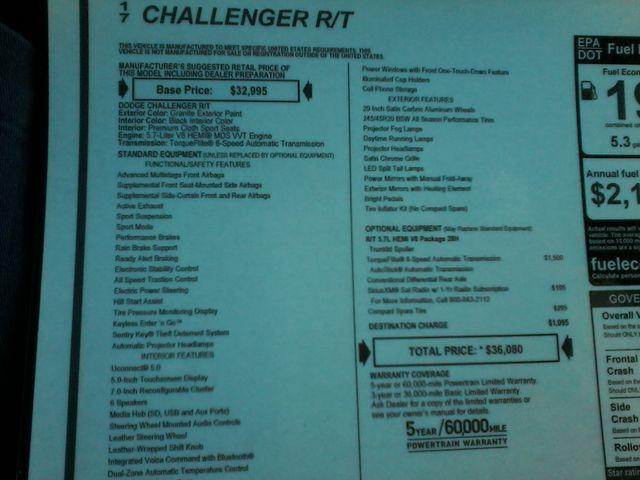 2017 Dodge Challenger R/T Boerne, Texas 16