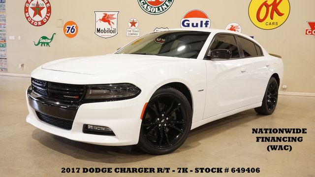 2017 Dodge Charger R/T HEMI,AUTO,BACK-UP CAM,HTD/COOL LTH,BLK 20'S,7K
