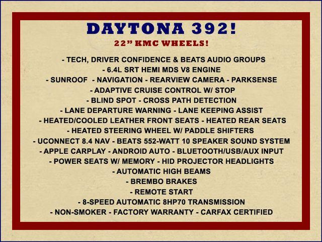 2017 Dodge Charger Daytona 392 - NAV, TECH, CONFIDENCE & BEATS PKGS! Mooresville , NC 1